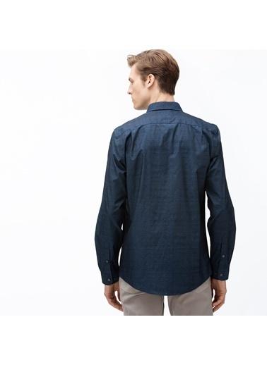Lacoste Erkek Slim Fit Gömlek CH0072.72L Lacivert